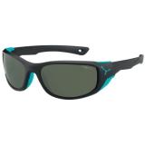 Petite photo de l'article Cebe Jorasses black turquoise polarise lunettes de soleil