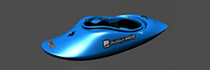 Petite photo de l'article Exo kayak Helixir kayak freestyle playboat