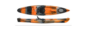 Petite photo de l'article Islander Strike Angler kayak sit on top peche