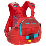 Petite photo de l'article Palm Nevis pfd rouge gilet kayak riviere