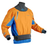 photo de Palm Zenith jacket orange anorak kayak riviere