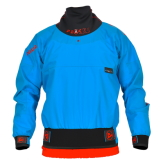 photo de Peak Deluxe 2.5 L bleu anorak kayak riviere