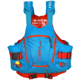 photo de Peak River guide bleu gilet kayak riviere