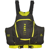 photo de Peak River vest noir gilet kayak riviere