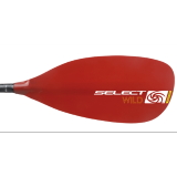 Petite photo de l'article Select Wild QL fibre rouge manche droit pagaie kayak riviere