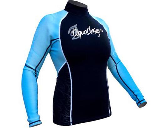 photo de Aquadesign Blue Sea top shirt neoprene kayak