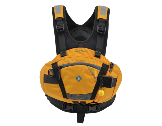 photo de l'article Astral Serpent 2.0 pfd amber gilet kayak riviere