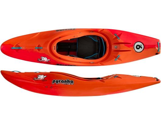 Pyranha 9R II stout kayak riviere